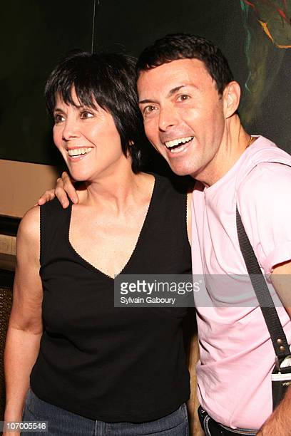 Joyce DeWitt and Richard Barone during 14th Annual Rockers on Broadway at The Cutting Room in New York NY United States
