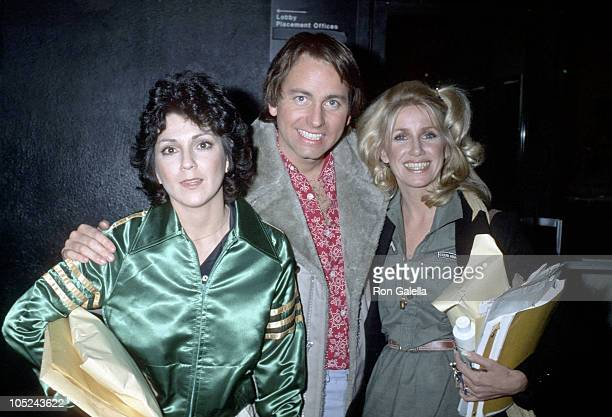 Joyce DeWitt John Ritter and Suzanne Somers After A Taping of 'Three's Company'