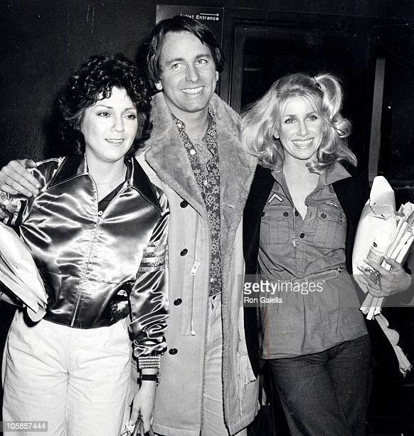 Joyce DeWitt John Ritter and Suzanne Somers during John Ritter and Suzanne Somers Sighting at CBS TV City Taping January 18 1978 at CBS TV City in...