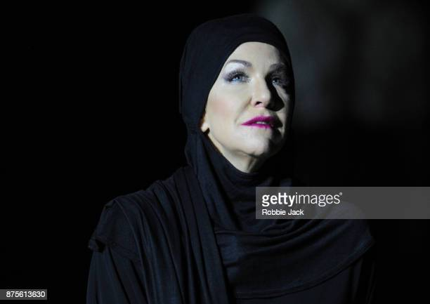Joyce DiDinato as Semiramide in the Royal Opera's production of Gioachino Rossini's Semiramide directed by David Alden and conducted by Antonio...