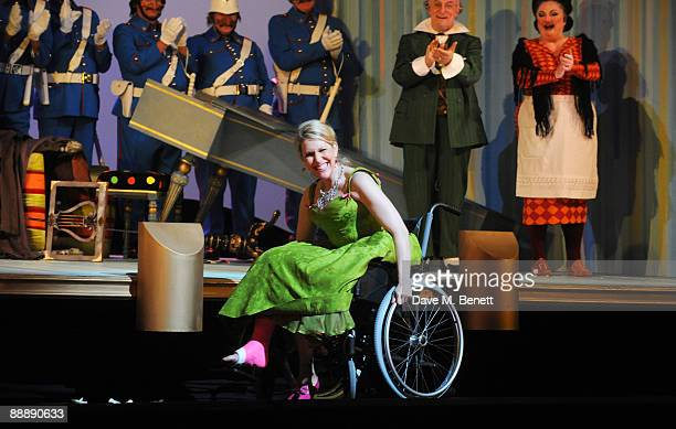 Joyce DiDonato performs on stage during the press night of 'Il Barbiere Di Siviglia' at the Royal Opera House on July 7 2009 in London England