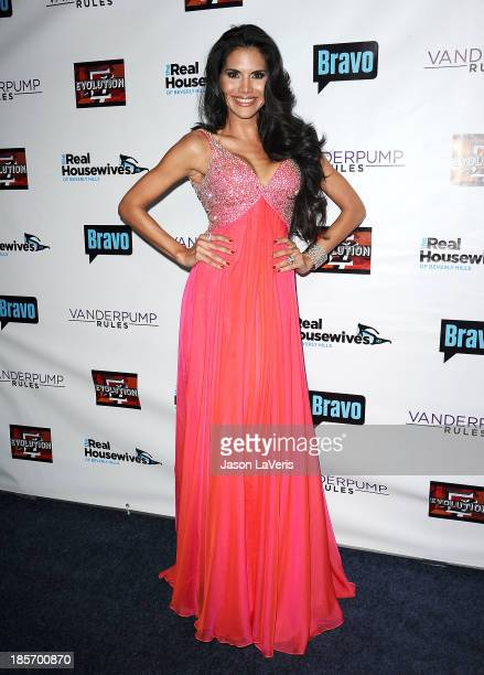 Joyce Giraud de Ohoven attends the The Real Housewives of Beverly Hills and Vanderpump Rules premiere party at Boulevard3 on October 23 2013 in...