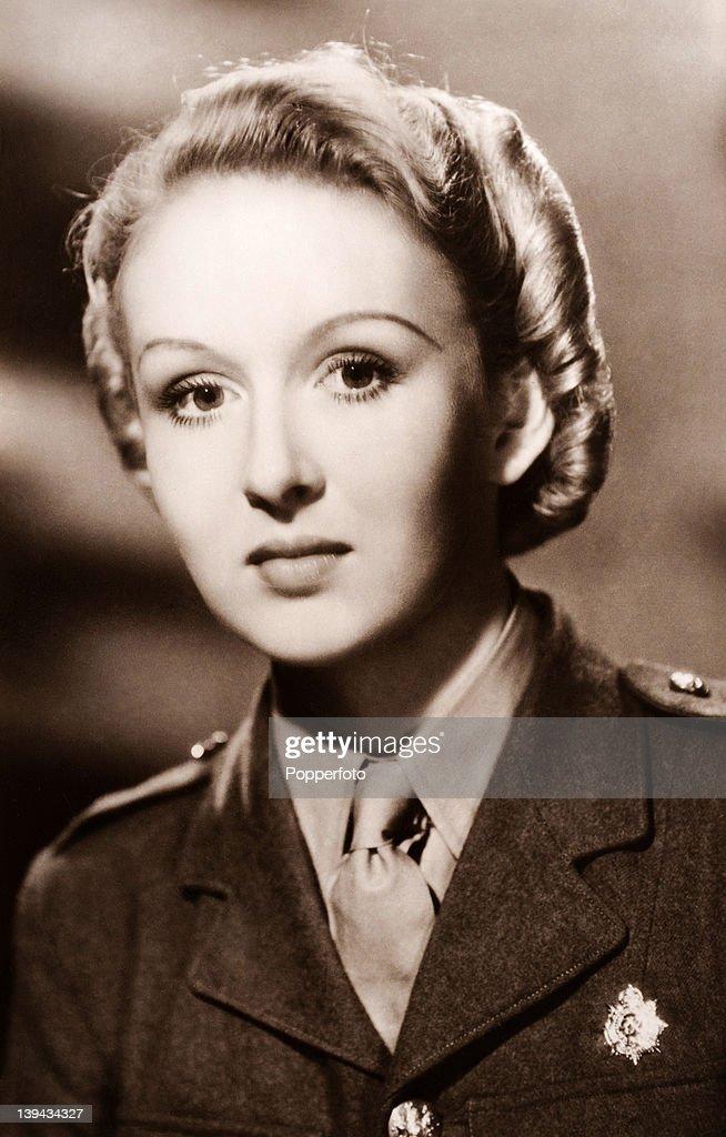 Joyce Howard, actress, circa 1...