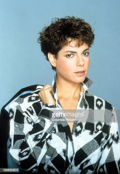 Joyce Hyser in publicity portrait for the film 'Just One Of The Guys' 1985
