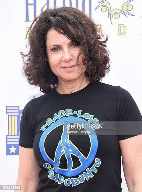 Joyce Hyser Robinson arrives at the 6th Annual Pedal On The Pier Fundraiser at Santa Monica Pier on June 5 2016 in Santa Monica California