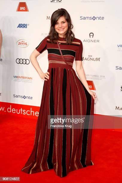 Joyce Ilg attends the German Film Ball 2018 at Hotel Bayerischer Hof on January 20 2018 in Munich Germany