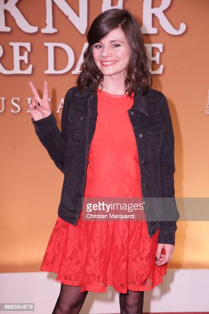 Joyce Ilg attends the premiere of the musical 'Der Gloeckner von Notre Dame' on April 9 2017 in Berlin Germany