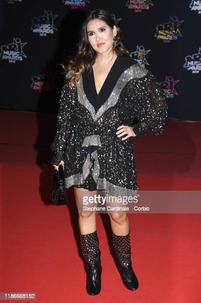 Joyce Jonathan attends the 21st NRJ Music Awards At Palais des Festivals on November 09 2019 in Cannes France