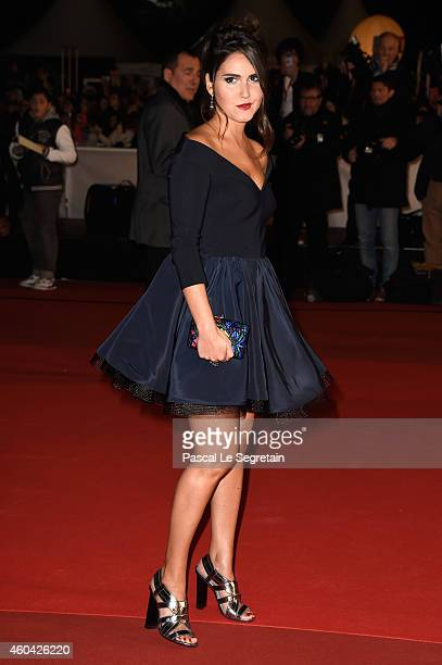 Joyce Jonathan attends the NRJ Music Awards at Palais des Festivals on December 13 2014 in Cannes France
