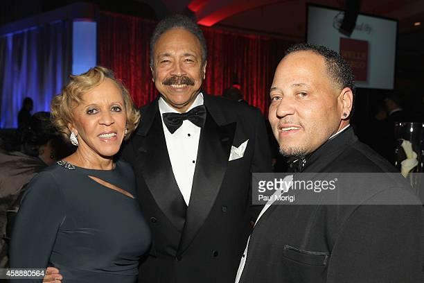 N Joyce Payne William R Harvey and Wynton Payne attend the Thurgood Marshall College Fund 26th Awards Gala at Washington Hilton on November 12 2014...