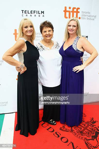 Joyce Raney Lila Jameson and Kristin Estell arrive at the Black And White Premiere during the 2014 Toronto International Film Festival held at Roy...