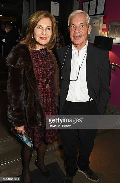 Joyce Reuben and Simon Reuben attend the press night of Pure Imagination The Songs of Leslie Bricusse at the St James Theatre on September 29 2015 in...