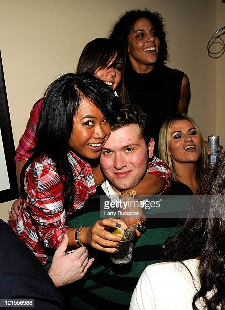 Joyce Sevilla Matt Donnelly and guests attend The Vicious Kind Party at the Hollywood Life House on January 17 2009 in Park City Utah