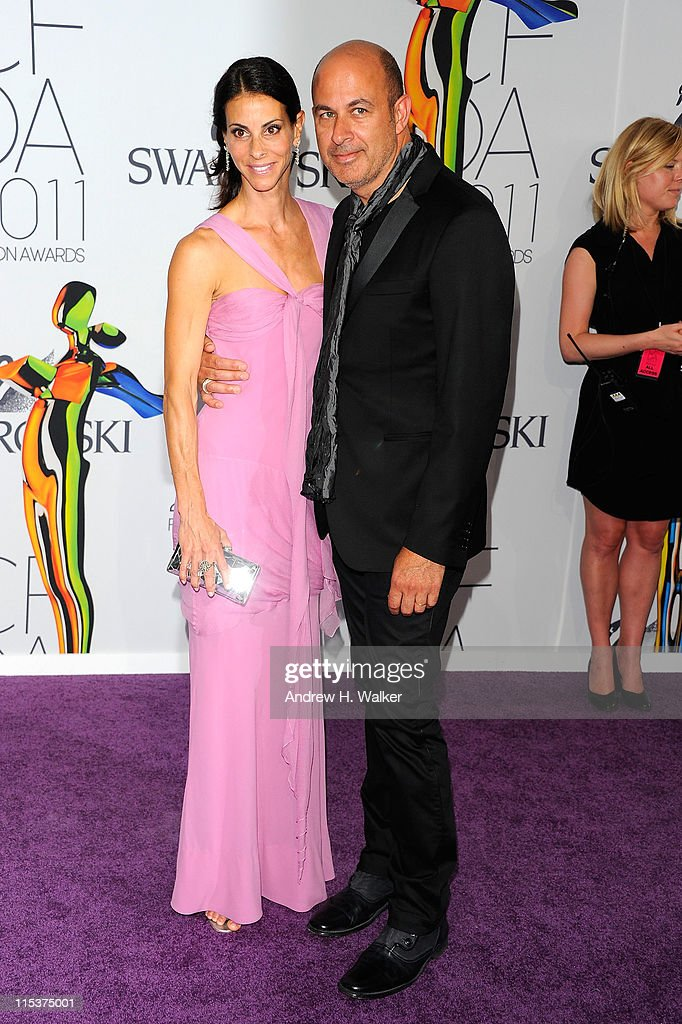 Joyce Varvatos and designer John Varvatos attend the 2011 CFDA Fashion Awards at Alice Tully Hall, Lincoln Center on June 6, 2011 in New York City.