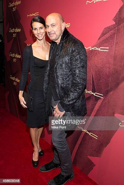 Joyce Varvatos and John Varvatos attend Indochine's 30th Anniversary Party at Indochine on November 7, 2014 in New York City.