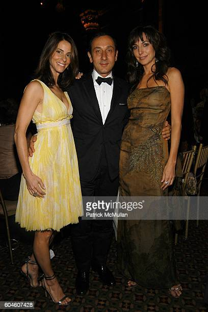Joyce Varvatos Gilles Mendell and Monica Mitro attend 11th Annual CARON FOUNDATION GALA honoring John Sykes at Cipriani 42nd St on June 13 2006 in...