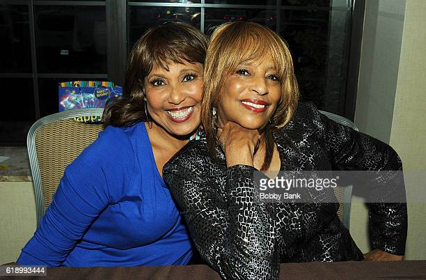 Joyce Vincent Wilson and Telma Hopkins attends 2016 Chiller Theatre Expo Day 1 at Parsippany Hilton on October 28 2016 in Parsippany New Jersey