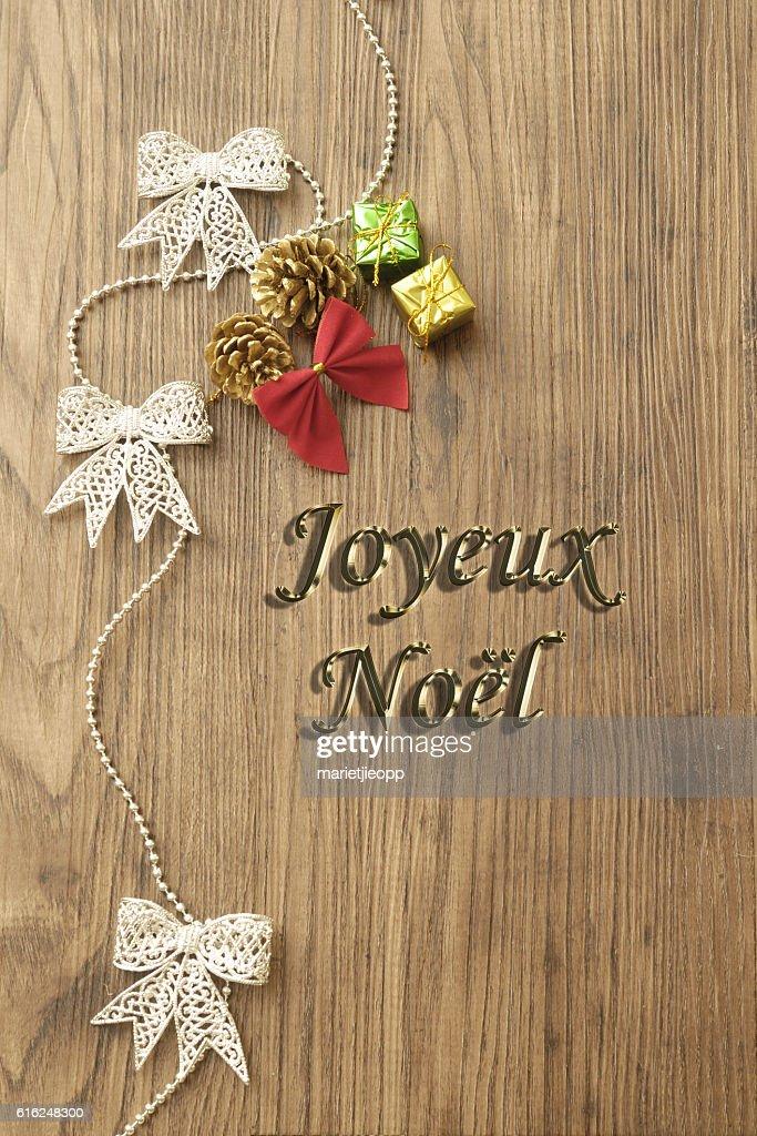 Joyeux Noel : Stock Photo