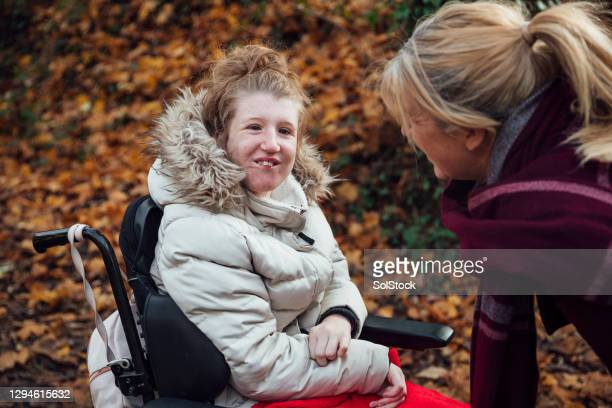 joyful day out - learning disability stock pictures, royalty-free photos & images