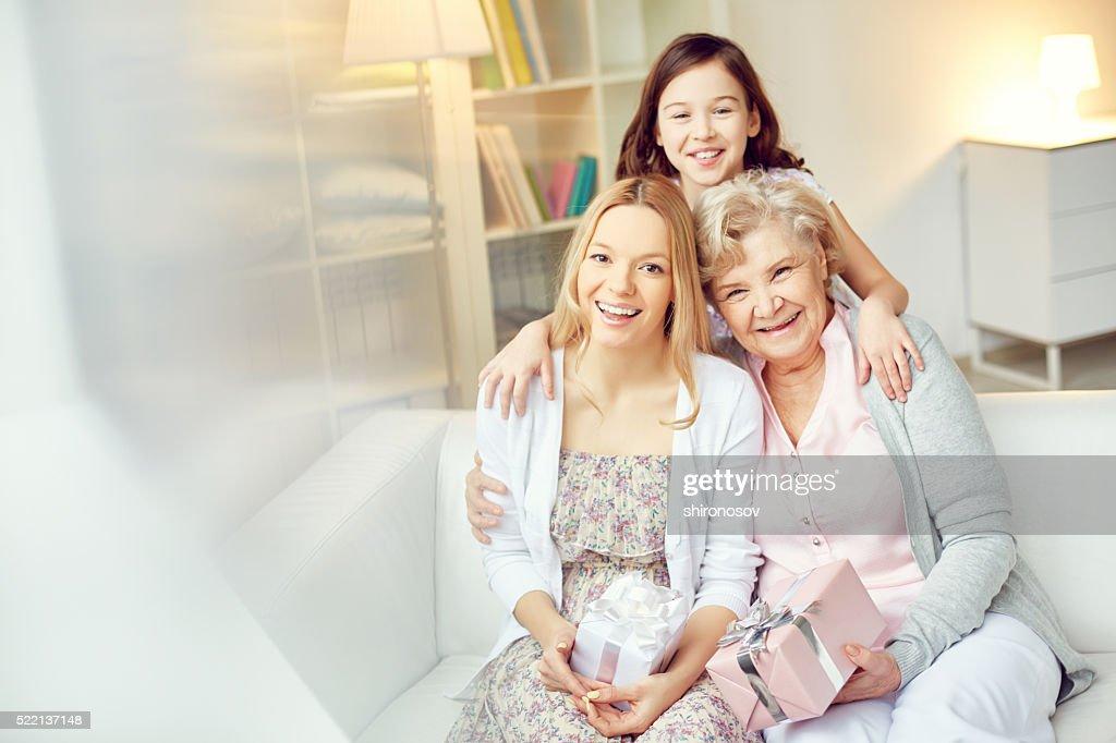 Joyful females : Stock Photo