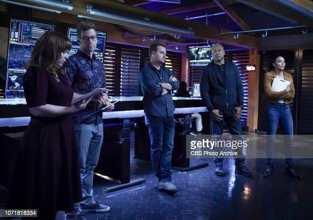 Joyride Pictured Renée Felice Smith Barrett Foa Chris O'Donnell LL COOL J and Marsha Thomason The NCIS team is joined by NCIS Special Agent Nicole...