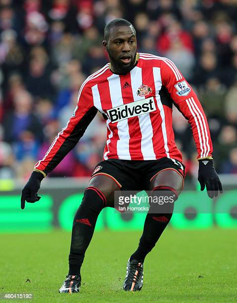 Jozy Altidore of Sunderland during the Barclays Premier League match between Sunderland and West Ham United at the Stadium of Light on December 13,...