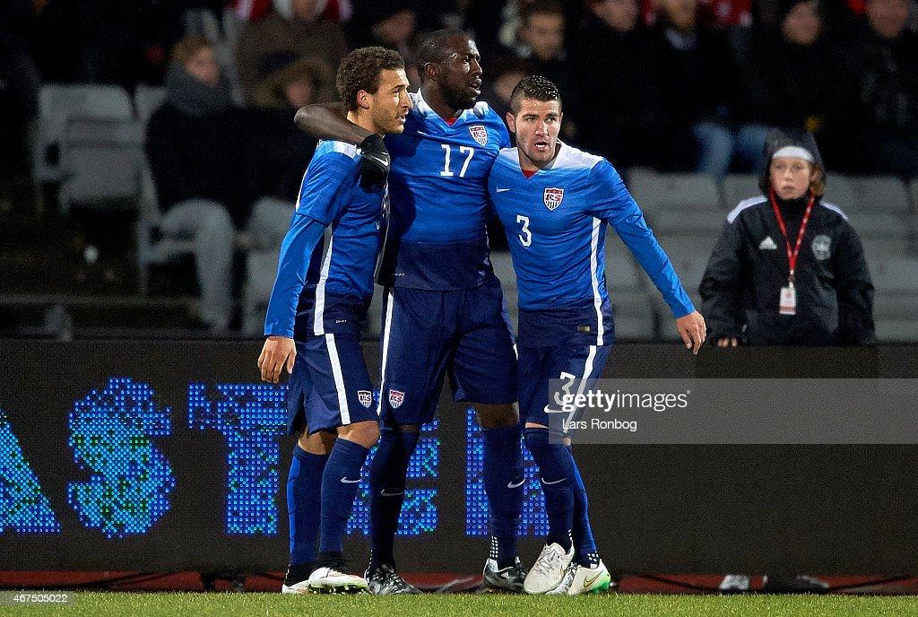Denmark vs United States - International Friendly : News Photo