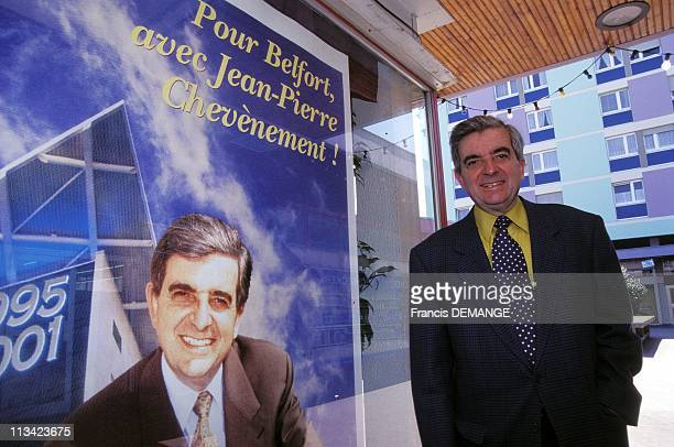 Chevenement Mayor Of Belfort On May 22nd 1995 In Belfort France