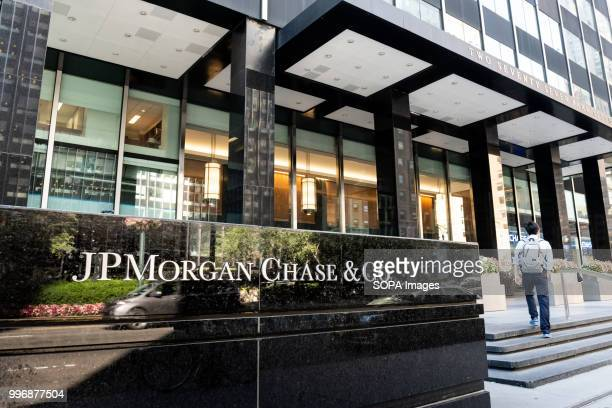 JPMorgan Chase & Co. Building on Park Avenue in New York City.
