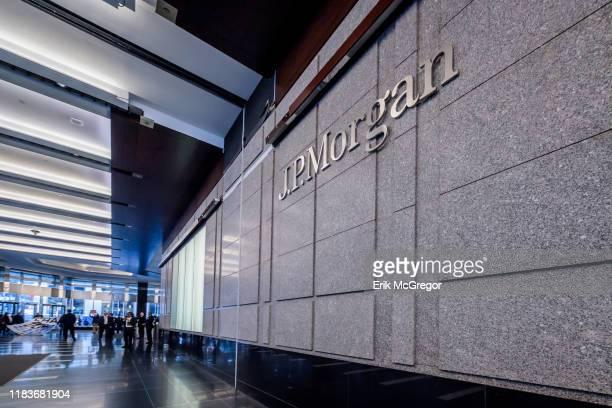 JPMorgan Chase headquarters in central Manhattan.