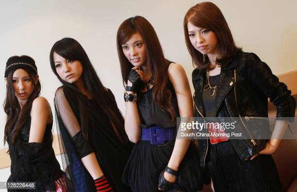 Pop band Scandal poses for picture during an interview at Kowloonbay International Trade & Exhibition Centre , Kowloon Bay. 13SEP11