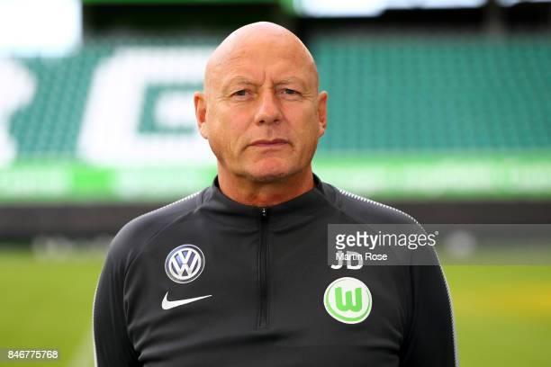 Jörg Drill of VfL Wolfsburg poses during the team presentation at on September 13 2017 in Wolfsburg Germany