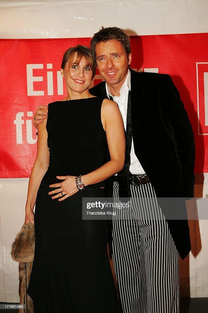 Jörg Pilawa Und Seine Freundin Irina Opaschowski Bei Der