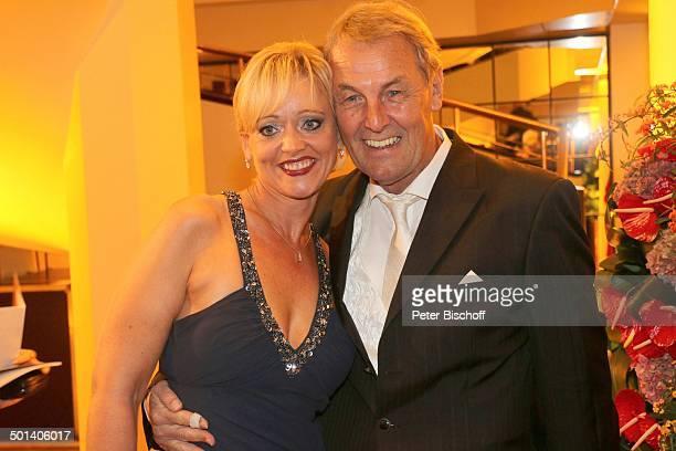 "Jörg Wontorra , Ehefrau Heike, Gala 32. ""Deutscher Sportpresseball"", Alte Oper, Frankfurt, Hessen, Deutschland, Europa Promi, BB, FTP; P.-Nr...."