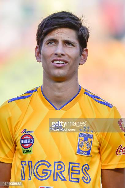 Jürgen Damm, #25 of Tigres, pose prior the 15th round match between Tigres UANL and Morelia as part of the Torneo Clausura 2019 Liga MX at...