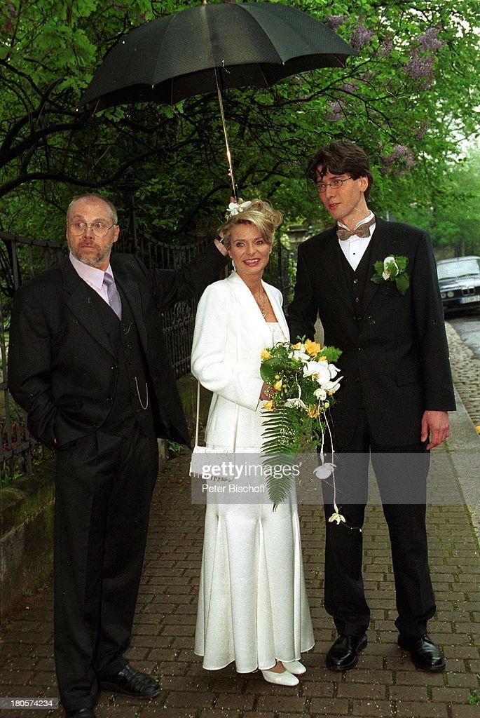 Jürgen Deile, Uta Bresan, Ehemann Karsten Freund, Hochzeit