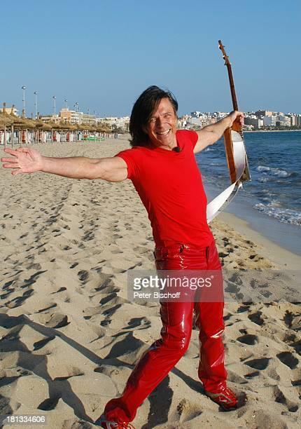 Jürgen Drews Auftritt beim Ballermann Bucht von El Arenal Insel Mallorca Balearen Spanien Europa