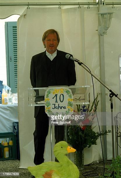 Jürgen Fliege 10jährigesJubiläum der EubiosKlinik von ProfessorDr Julius Hackethal Chiemgau