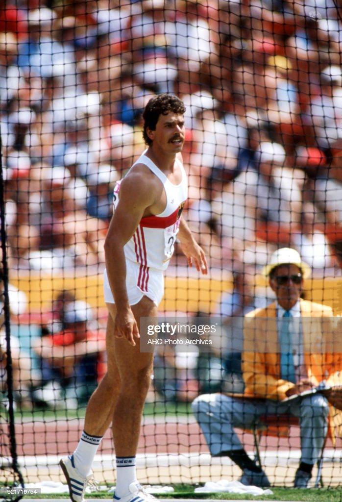Men's Decathlon Competition At The 1984 Summer Olympics : Foto di attualità