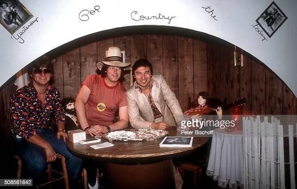 'Jürgen Hohmann Gunter Gabriel Karel Gott CountryFestival ''Fan Fair'' am in Nashville Tennessee USA '