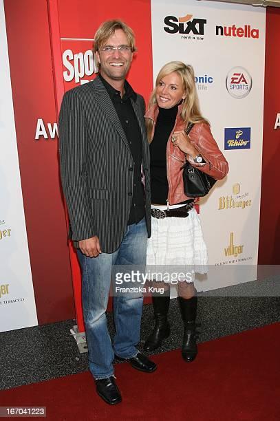 Jürgen Klopp Und Ehefrau Ulla Bei Der Verleihung Des Sport Bild Award 2006 Im Indochine In Hamburg