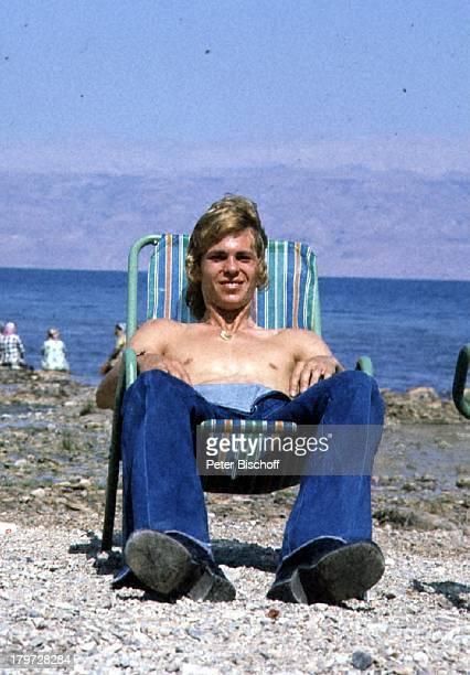 Jürgen Marcus, Israel-Rundreise, Totes;Meer/Israel, Urlaub, Wasser, Strand,;Liegestuhl,
