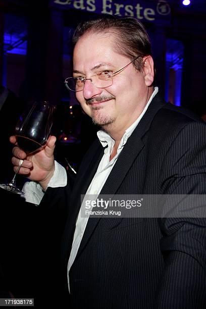 Jürgen Tarrach Bei Der Ard Blue Hour Opening Party Im Museum Für Kommunikation In Berlin