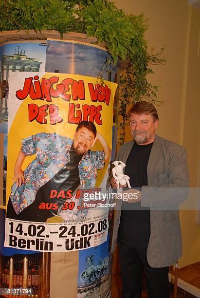 Jürgen von der Lippe 12 Verleihung des 'MünchhausenPreises der Stadt Bodenwerder 2008' Buchhagen bei Bodenwerder Niedersachsen Deutschland Europa...
