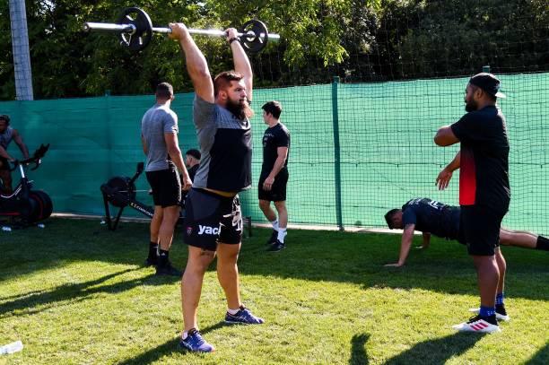 FRA: RC Toulon Training Session