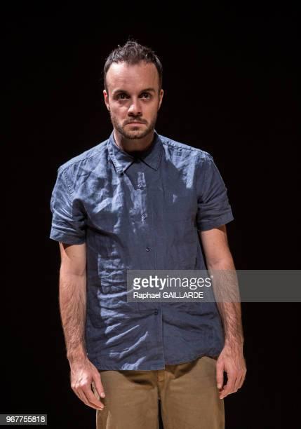 Jérémy Lopez de la troupe de la ComédieFrançaise interprète la pièce 'Haute Surveillance' de Jean Genet mise en scène de Cédric Gourmelon le 14...