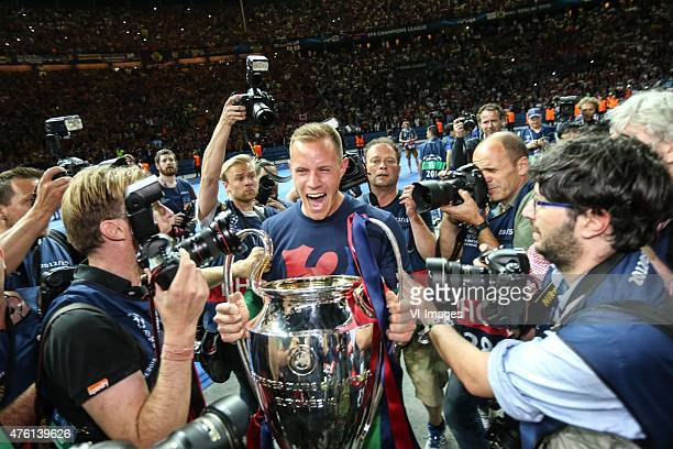 Jérémy Mathieu of FC Barcelona during the UEFA Champions League final match between Barcelona and Juventus on June 6, 2015 at the Olympic stadium in...