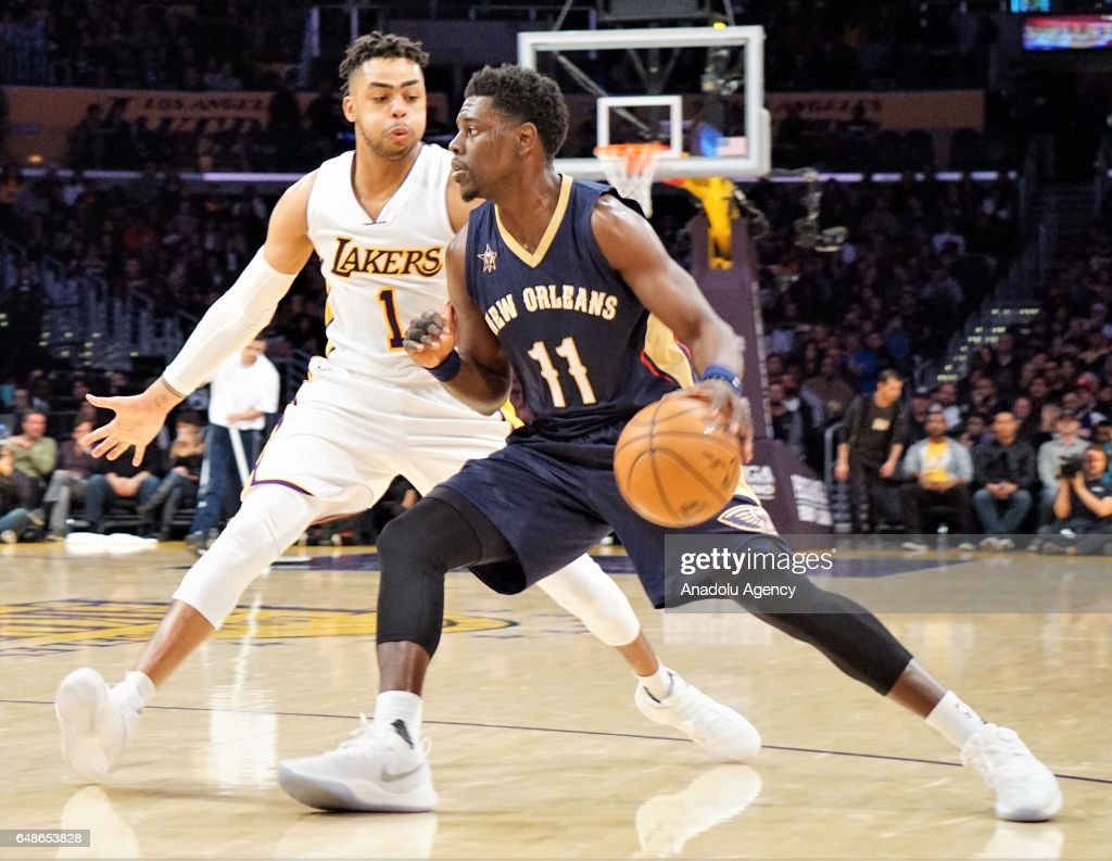 NBA: Los Angeles Lakers v New Orleans Pelicans  : News Photo