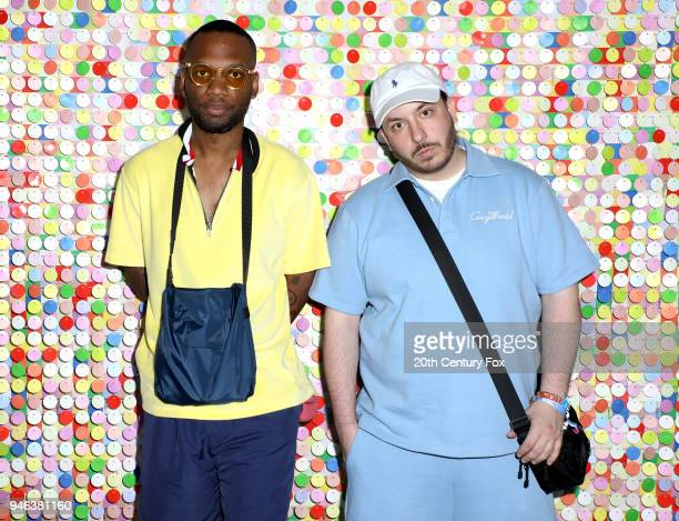 Scott and A$AP Lou Banga of Cozy Boys attend #REVOLVEfestival Day 1 on April 14 2018 in La Quinta California