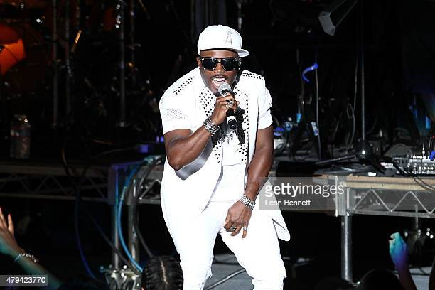 Stylz of Blackstreet2 performs at 947 The WAVE's Soulful Summer Concert at The Greek Theatre on July 3 2015 in Los Angeles California